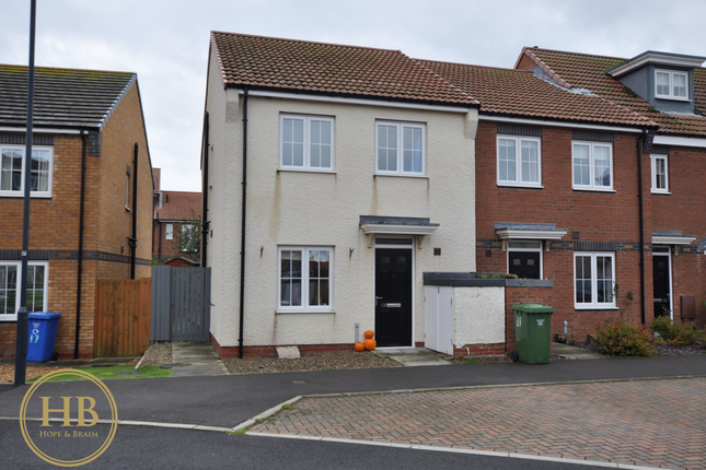 Thumbnail End terrace house for sale in Murrayfield Gardens, Whitby
