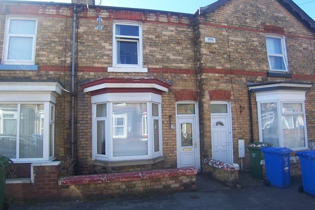 Thumbnail Terraced house to rent in Candler Street, Scarborough