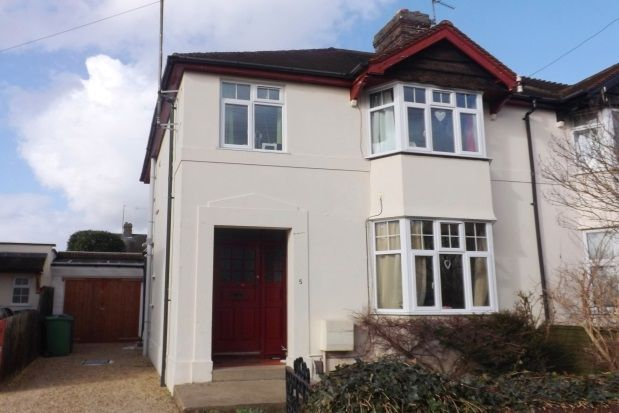 Thumbnail Property to rent in Belvedere Road, Oxford