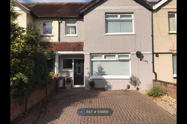 Thumbnail Terraced house to rent in Pavilion Road, Worthing