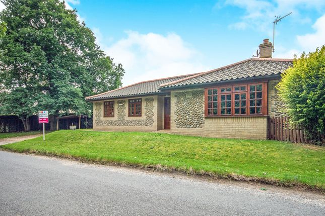 Thumbnail Detached bungalow for sale in Hinderclay Road, Rickinghall, Diss