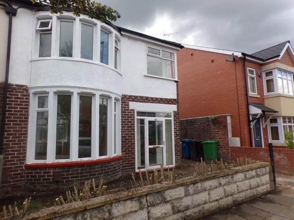 Thumbnail Semi-detached house for sale in Longford Road, Chorlton, Manchester