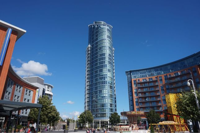 Thumbnail Flat to rent in 1 Gunwharf Quays, Portsmouth