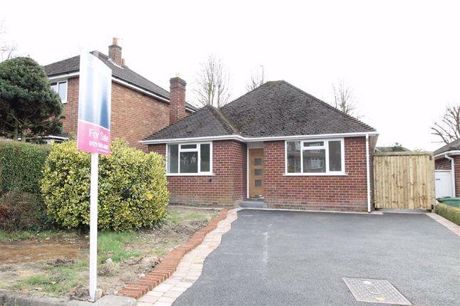 Thumbnail Detached bungalow for sale in Stourbridge Road, Halesowen