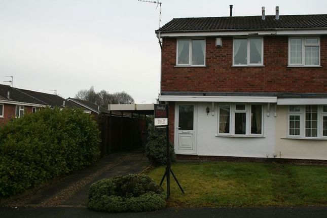 2 bed semi-detached house to rent in Isis Close, Congleton