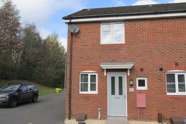 Thumbnail End terrace house for sale in Penderyn Close, Merthyr Tydfil