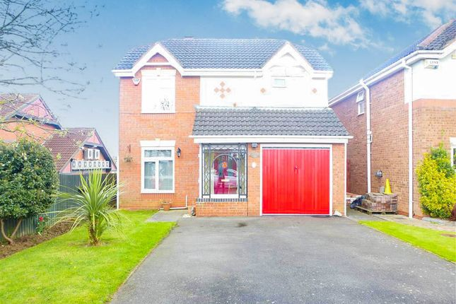 Thumbnail Detached house for sale in Stubbs Close, Wellingborough