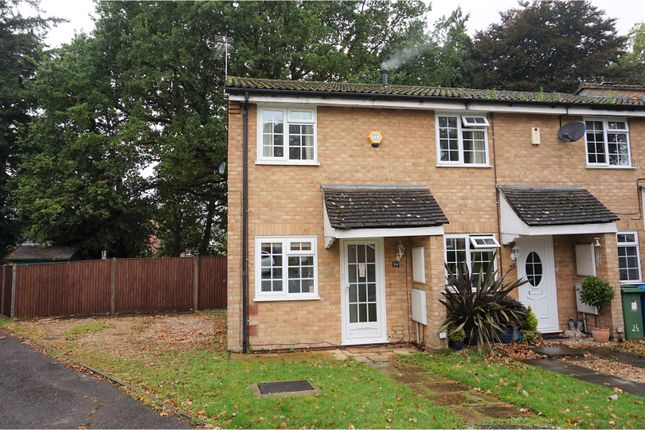 Thumbnail End terrace house for sale in Severn Close, Sandhurst