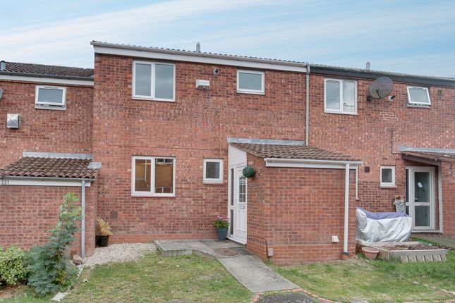 Thumbnail Terraced house for sale in Loxley Close, Church Hill South, Redditch
