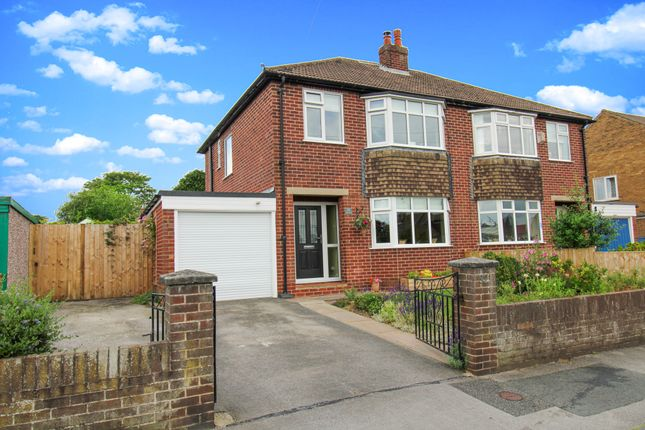 Thumbnail Semi-detached house for sale in Elm Road, Ripon