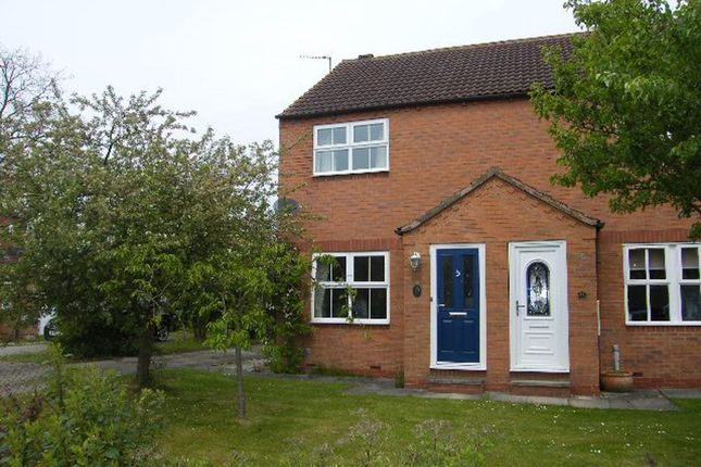 Thumbnail Semi-detached house to rent in Riverside Close, York, North Yorkshire