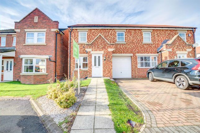 Thumbnail Semi-detached house for sale in Wiltshire Gardens, Wallsend