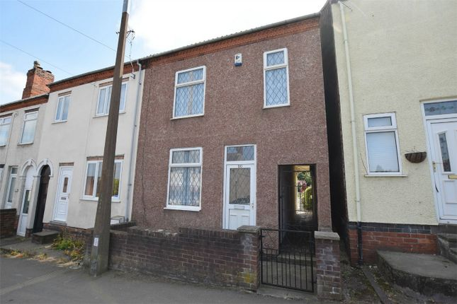 Thumbnail End terrace house for sale in Somercotes Hill, Somercotes, Alfreton, Derbyshire