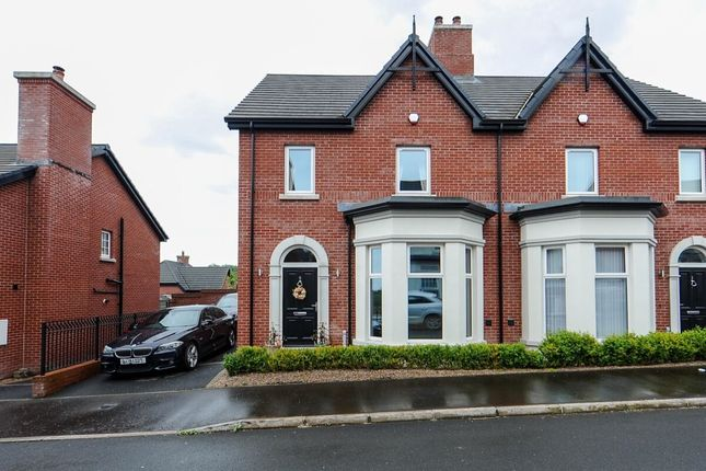 Thumbnail Semi-detached house for sale in Woodfort Gardens, Lisburn