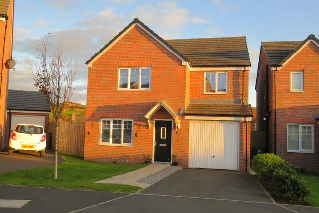 Thumbnail Detached house to rent in Bellaport Gardens, Harrington, Workington