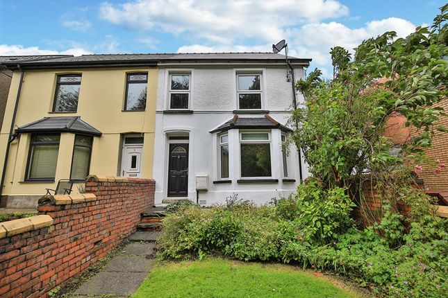 Thumbnail Semi-detached house for sale in Warwick Road, Brynmawr, Ebbw Vale