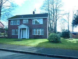 Thumbnail Detached house to rent in Betley Hall Gardens, Betley, Crewe