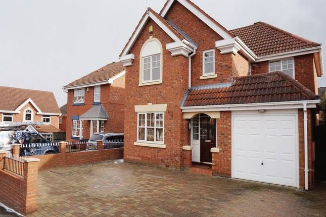 Thumbnail Detached house for sale in Hobby Close, Meir Park, Stoke-On-Trent, Staffordshire
