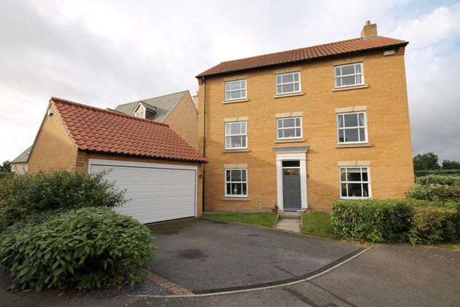 Thumbnail Detached house to rent in Gwash Close, Ryhall, Stamford
