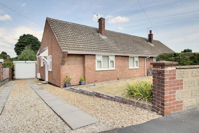 Thumbnail Semi-detached bungalow for sale in Hawthorne Avenue, Hellesdon, Norwich