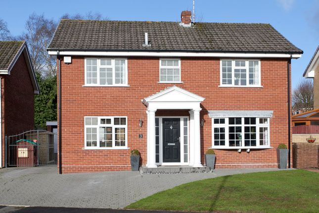 Thumbnail Detached house for sale in Jonathan Road, Trentham, Stoke-On-Trent