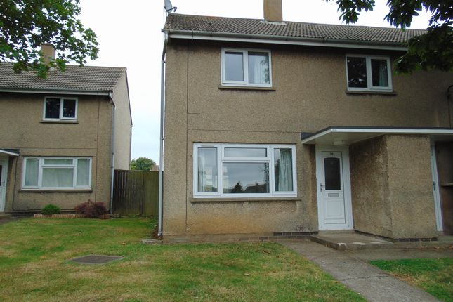 Thumbnail Semi-detached house to rent in Trenchard Way, Longhoughton, Alnwick