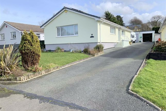 Thumbnail Detached bungalow for sale in Cae Martha, Llanarth, Ceredigion