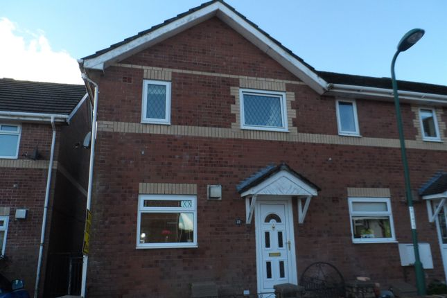 Thumbnail End terrace house for sale in Pant Glas, Union Street, Tredegar