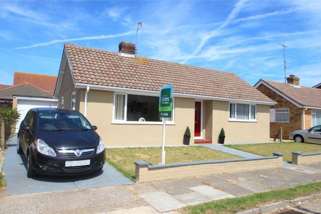 Thumbnail Detached bungalow for sale in Ingleside Crescent, Lancing, West Sussex