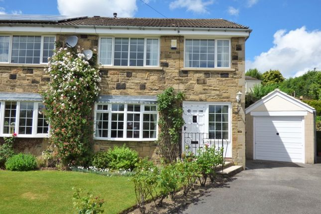 Thumbnail Semi-detached house for sale in Westmoor Close, Baildon, Shipley