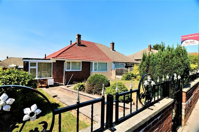 Thumbnail Semi-detached bungalow to rent in Cumbrian Walk, Barnsley, South Yorkshire