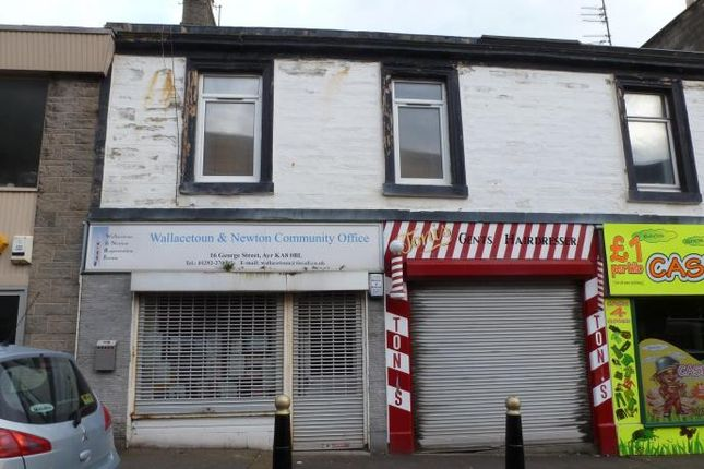 Thumbnail Flat to rent in George Street, Ayr