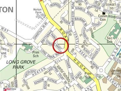 Street Map of Marston, Epsom KT19