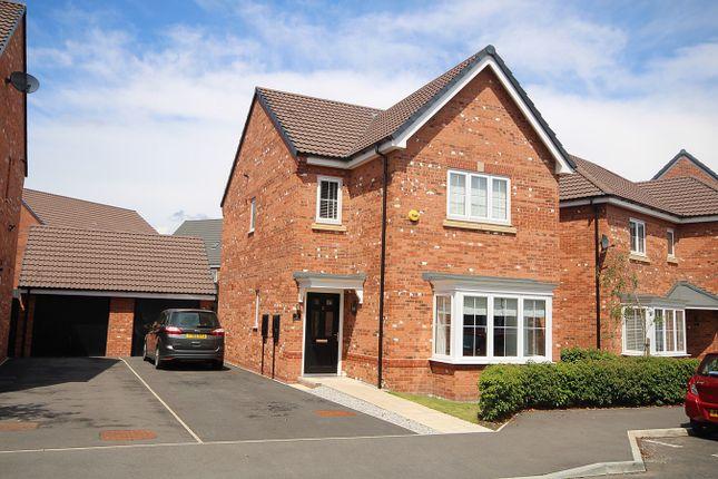 Thumbnail Detached house for sale in Cottesmore Close, Great Sankey, Warrington