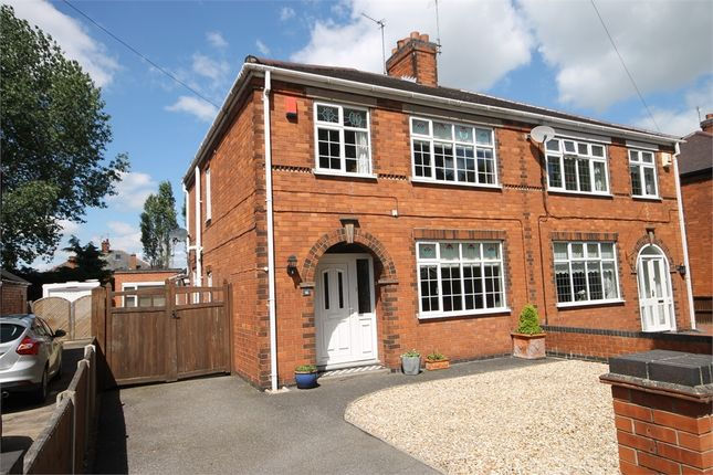 Thumbnail Semi-detached house for sale in Windsor Avenue, Newark, Nottinghamshire.