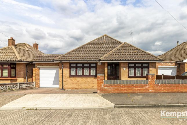 Thumbnail Detached bungalow for sale in Woodward Close, Grays
