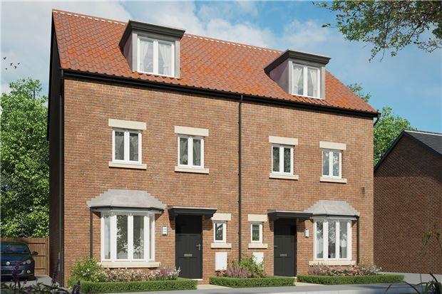 Thumbnail Semi-detached house for sale in The Southcott, Hardwicke Grange, Hardwicke, Gloucester