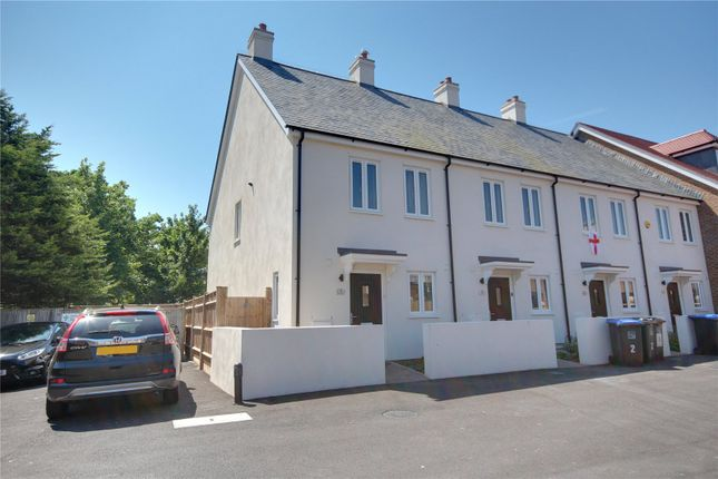 Thumbnail End terrace house for sale in Ollivers Chase, Goring Road, Goring By Sea, West Sussex