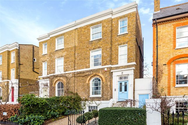 Thumbnail End terrace house for sale in Stockwell Park Crescent, London