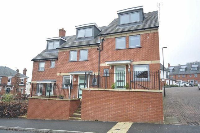 Thumbnail End terrace house for sale in Graces Field, Stroud