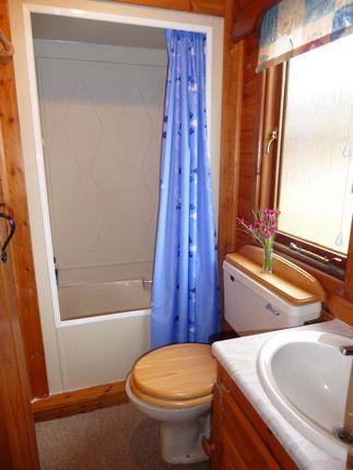 Shower Room of Invernahavon Chalet Park, Newtonmore PH20