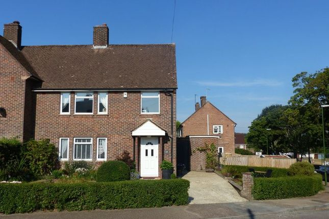 Thumbnail Semi-detached house for sale in Rectory Close, Pulborough