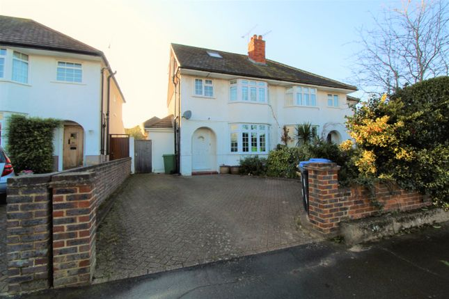 Semi-detached house for sale in Church Road, Byfleet, Surrey