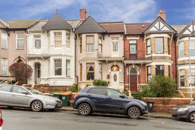 Thumbnail Terraced house for sale in Coldra Road, Newport