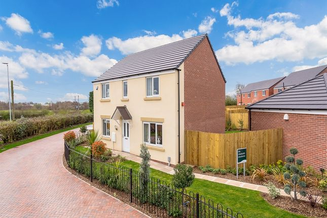 "Thumbnail Detached house for sale in ""The Chedworth "" at Crewe Road, Alsager, Stoke-On-Trent"