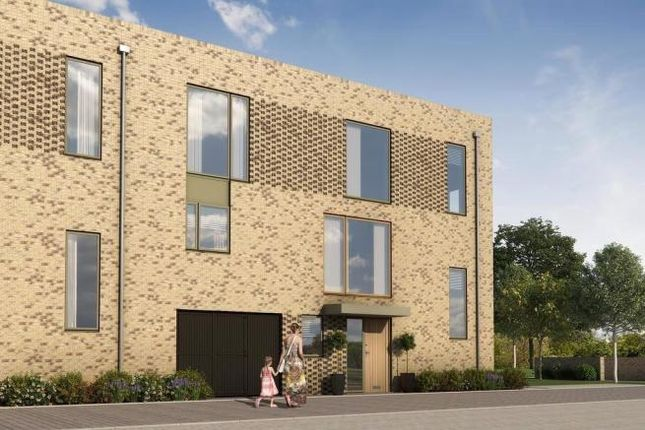Thumbnail Town house for sale in The Burwell At Great Kneighton, Long Road, Trumpington, Cambridge