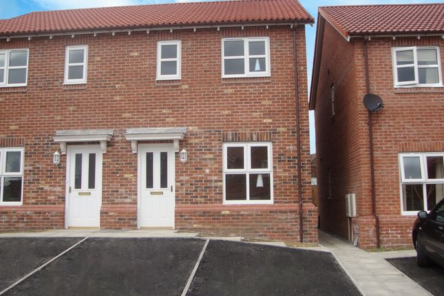 Thumbnail Terraced house to rent in Meadow Court, Tow Law, Bishop Auckland