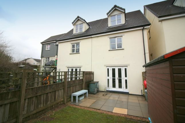 Thumbnail Town house for sale in Berry Park, Saltash