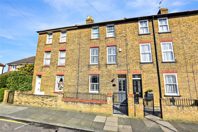 Thumbnail Town house for sale in Albert Road, Bexley Village, Kent