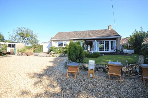 Thumbnail Detached bungalow for sale in Bishop Sutton, Bristol